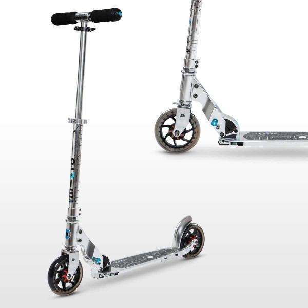 Speed Classic Micro Scooter Silver-8