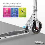 Speed Classic Micro Scooter Silver-2
