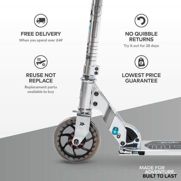 Speed Classic Micro Scooter Silver-5