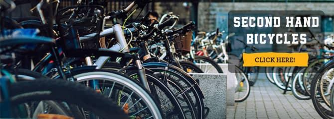 Banner Second hand bikes