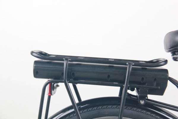 Falcon Serene 26″ Leisure Ebike/Electric Bike battery and carrier