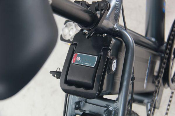 Falcon Spark 26″ Electric Mountain Bike battery