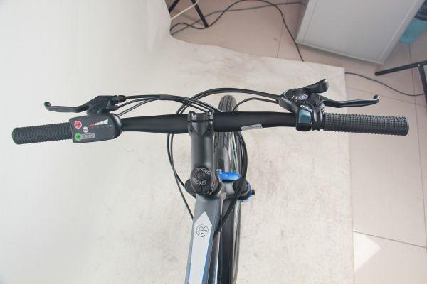 Falcon Spark 26″ Electric Mountain Bike handlebar, electro meter