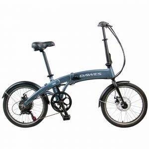 Dawes ARC-II Electric Folding Bike 20 Inch in Blue